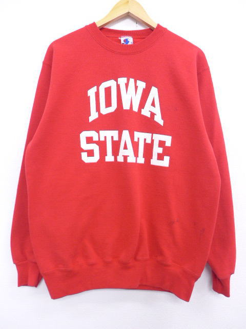 7eebdc7df818 RUSHOUT: Old clothes sweat shirt champion Champion Iowa college red ...