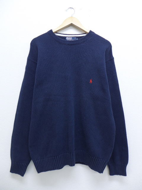 4fb4cd112 RUSHOUT  Old clothes sweater Ralph Lauren Ralph Lauren logo cotton ...