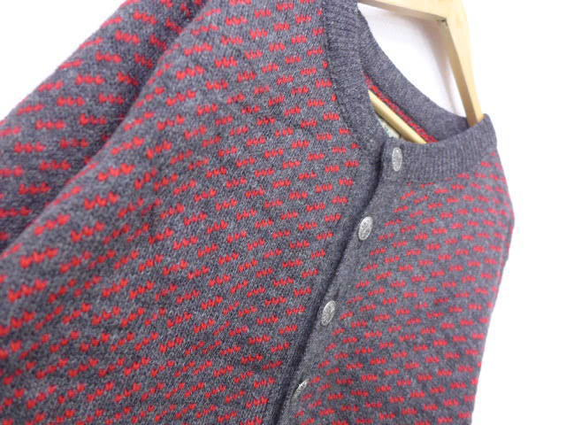 89e346944799 RUSHOUT: Old clothes knit cardigan L. L. Bean LLBEAN Birdseye gray ...