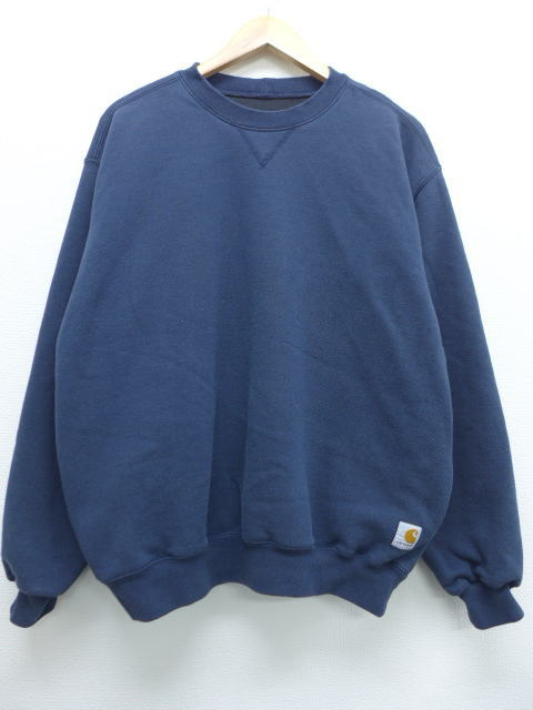57f7559ff5da RUSHOUT: Old clothes sweat shirt car heart Carhartt big size dark ...
