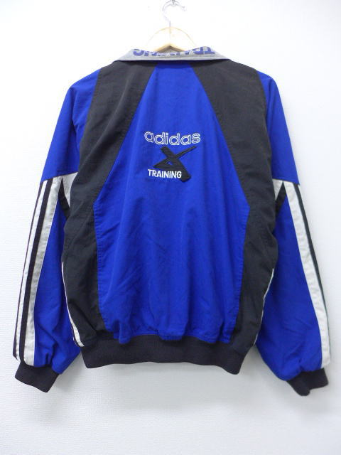 various styles no sale tax superior quality Old clothes jacket Adidas adidas reversible blue others blue large size men  | Autumn clothes 90s outer jacket blouson in the fall and winter spring ...