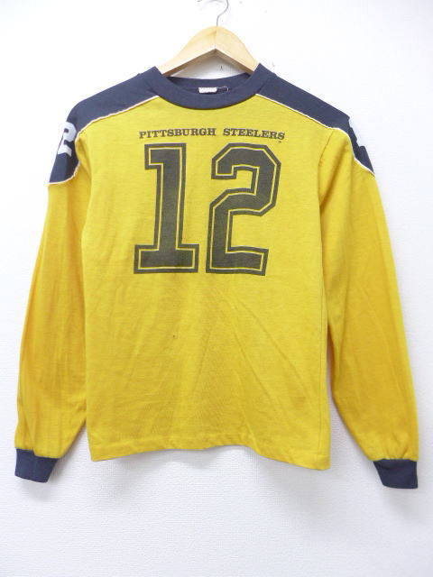 promo code 975b1 c5c5b It is | in the clothes 80s in autumn in the fall and winter spring clothes  in the spring and summer old clothes long sleeves vintage T-shirt NFL ...