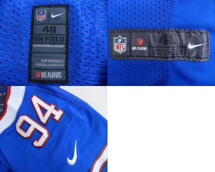 3d650585f RUSHOUT: Old clothes football T-shirt American football Nike NIKE ...