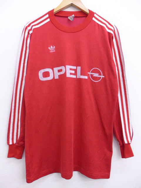 best loved 7d4dc bca61 Autumn clothes 90s | in spring clothes fall and winter in the spring and  summer old clothes long sleeves soccer T-shirt Adidas adidas flock print ...