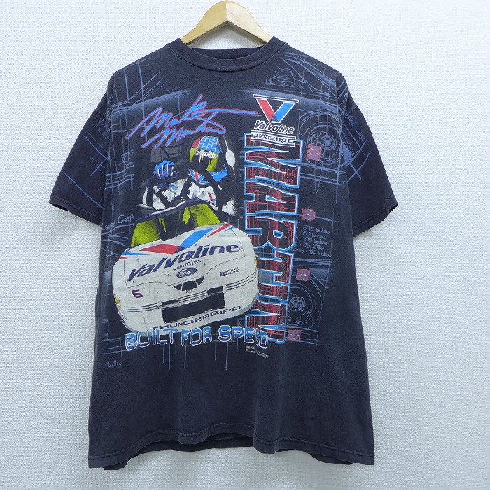 Speed Shop Clothing Black SK Speed Racing Equipment Logo T-Shirt Mens Large