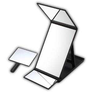 ヘアカラー、白髪染めに最適な鏡! ヘアカラーミラー YHC-5000今まで見えにくかったところまで、しっかり映し出してくれる鏡