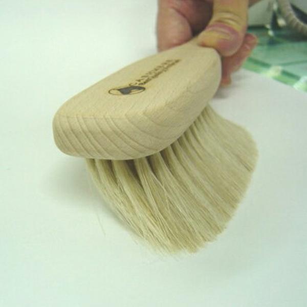 【送料無料】アートブラシ社製最高級カシミヤ用ブラシ/カシミヤブラシ