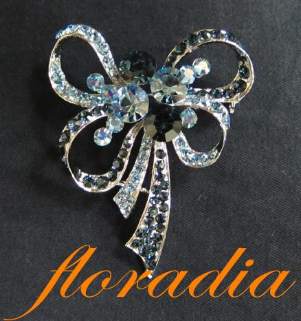 フローラディア floradia/リボンブーケブローチ/TVショッピングで大ヒット