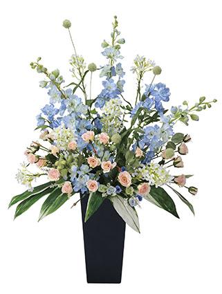 【送料無料】《アートグリーン》《人工観葉植物》光触媒 光の楽園 スイートブルー