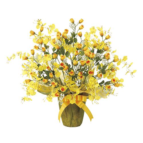 【送料無料】《アートグリーン》《人工観葉植物》光触媒 光の楽園 ゴールドストライク