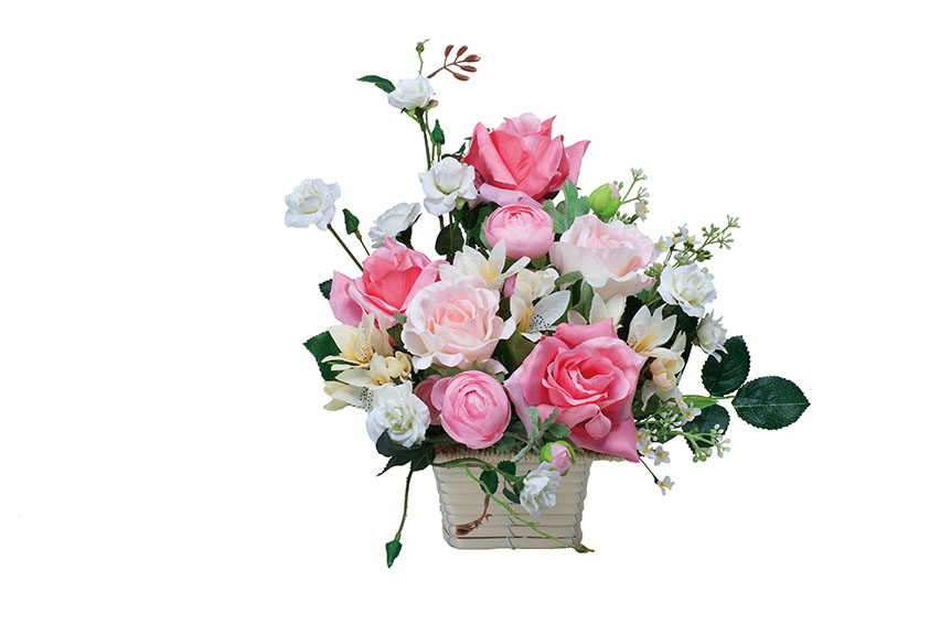 新築祝い・引越祝い・開店祝い・開業祝い・誕生日・バースデー・結婚・ウェディング・出産祝いなどのギフトに 【送料無料】《アートグリーン》《人工観葉植物》光触媒 光の楽園 ピンクエフ
