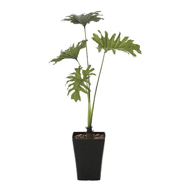 【送料無料】《アートグリーン》《人工観葉植物》光触媒 光の楽園 スプリット90