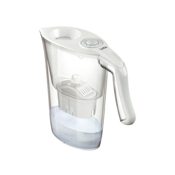 商品追加値下げ在庫復活 LAICA ライカ ポット型浄水器 ホワイト 2.3L お中元 浄水ポット