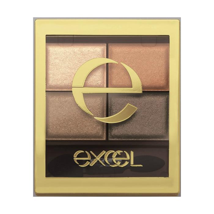 メーカー:エクセル excel 送料無料 エクセル 大放出セール スキニーリッチシャドウ リアルブラウン SR02 半額