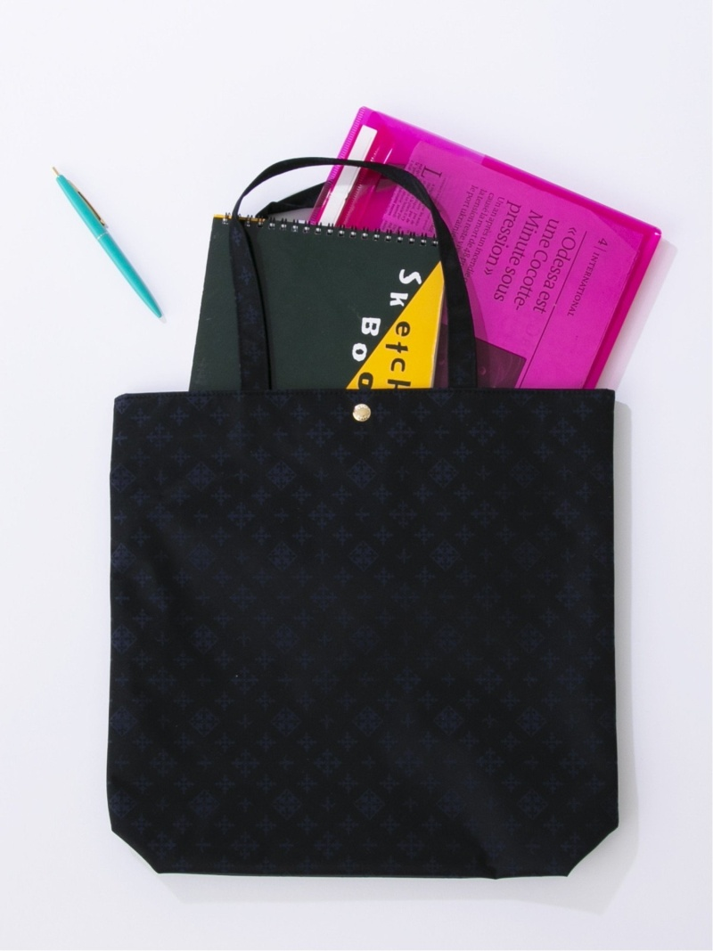 [Rakuten Fashion]Plain Tote Bag russet ラシット バッグ トートバッグ ブラック グレー パープル レッド グリーン ホワイト【送料無料】