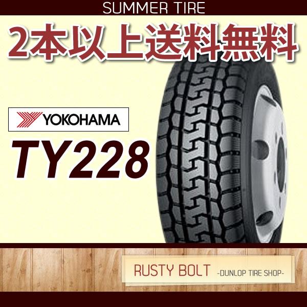 ヨコハマ TY228 チューブタイプ 700R16 10PR◆バン/小型トラック用サマ-タイヤ