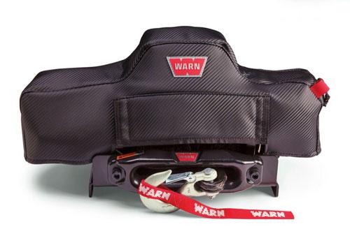特価品コーナー☆ カバーを装着したままウインチ操作可能 ラッピング無料 WARNソフトウインチカバー ステルスウインチカバー シリーズ用 VREVO