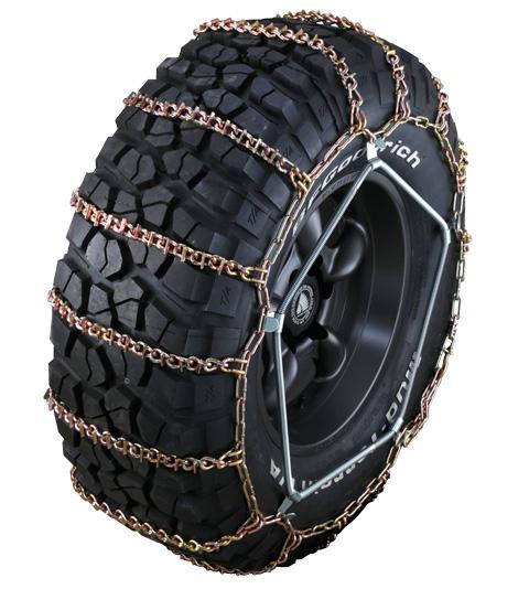 専用スパイクが威力を発揮 RAGUNA お買い得 OFFROADチェーン RG17 スパイク付ラダー型タイヤチェーンサイズ 安全 37X12.5R18 37X12.5R16 37X12.5R15 37X12.5R17