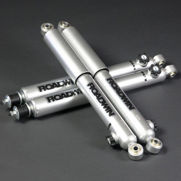 アピオ製 ROADWIN ショックアブソーバー銀八・減衰力14段調整 1本 (スズキ・ジムニー JB23/33/43)