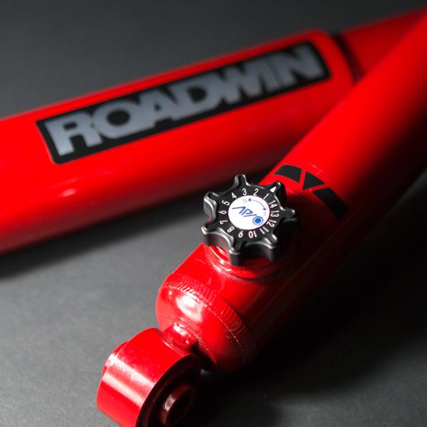 アピオ製 ROADWINショックアブソーバー RE50・減衰力14段調整 1本 (スズキ・ジムニーJB23/33/43)