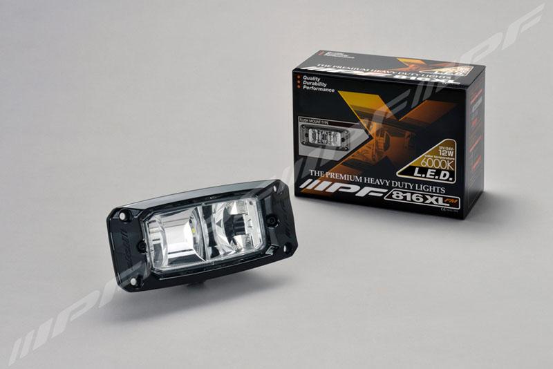 IPF LEDバックランプ 埋め込みタイプ 816XLFM (海外モデル)12W 1200lm 6000K
