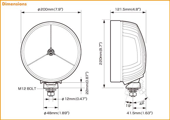 IPF XTREME LED SPORT 900XLS ekusutorimu LED体育900XLST(运转配光)
