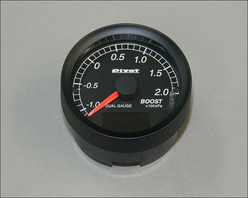 Pivot製 デュアルゲージDXB ブーストメーター(スズキ・ジムニー JB23-3型~10型)