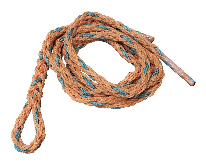 もう、結ばなくてもいいんです。今までにない画期的なロープ!! パワーカーロープ2t/6m