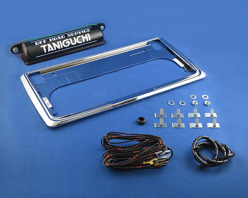 タニグチ製 ナンバー移動キット5000・旧ナンバー灯セット (スズキ・ジムニー SJ30~JA22)