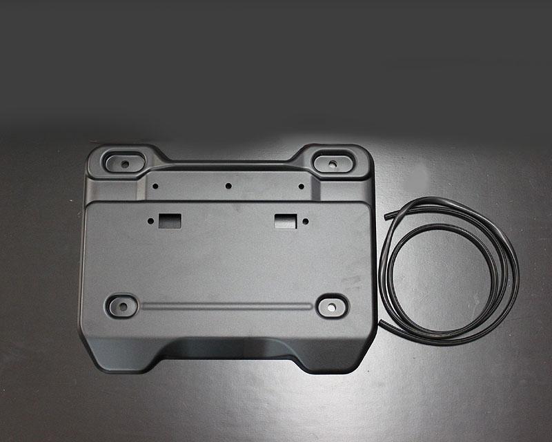 ジムニーパーツ 蔵 ジムニーJB64 JB74用 激安セール タニグチ製 JB74 JB64 バックドアライセンスガーニッシュ