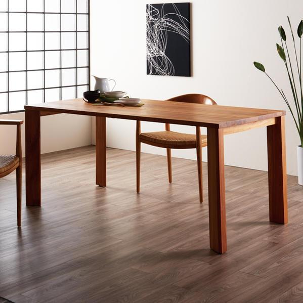組立無料 ダイニングテーブル 日本人の体型とライフスタイルに合わせた和モダンデザイン 木製 チーク無垢材 食卓でゆっくりとくつろぐ 創業100年 家具専門メーカーの技術 100周年記念モデル IDENTITY T336WX