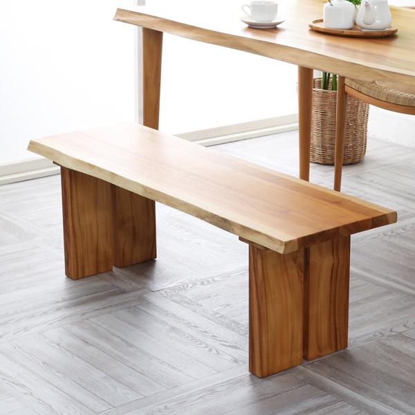 ベンチ チェア 2人掛け 2人用 ダイニング 食卓 木製 チーク 無垢材 北欧 ナチュラル インテリア デザイン おしゃれ BREEZE C250WX