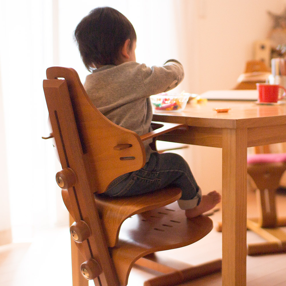 【送料無料】リボ社 フレキシットチェア・ベビー ベビーチェア ハイチェア テーブルチェア キッズチェア 子供 ダイニング ベビー 赤ちゃん 子供椅子 食事椅子 高さ調整 食事 北欧 木製チェア 前傾椅子