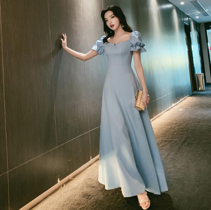 ウエディングドレス 青の通販