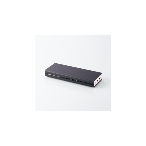 1920×1200 WUXGA 1920×1080 フルHD ワイド解像度に対応 エレコム DVI対応パソコン切替器 記念日 信託 代引き決済不可 パソコン 日時指定不可 ASNKVM-DVHDU4 分配器 オフィス用品