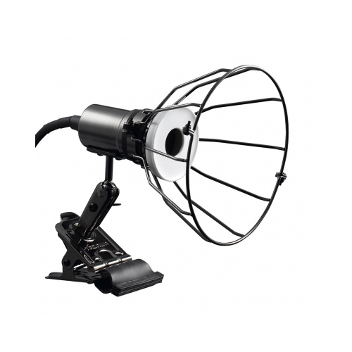 防水型なので 屋外の直接雨がかかる場所でも使用できます YAZAWA 防雨型E26クリップライトガード付きASNCWX150X03GM 家電 未使用品 ストアー 代引き決済不可 その他の照明器具 照明器具 日時指定不可