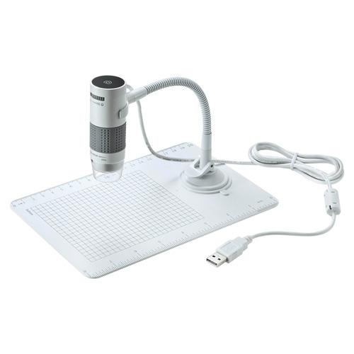 パソコンで使えるUSB顕微鏡 海外輸入 サンワサプライ USB顕微鏡 ASNLPE-07W カメラ 代引き決済不可 日時指定不可 カメラ関連製品 顕微鏡 公式ショップ