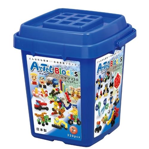 ブロック バケツ220 ビビット ARTEC 好評 ASNATC76536 雑貨 インテリア 人気 代引き決済不可 日時指定不可 雑貨品 ホビー