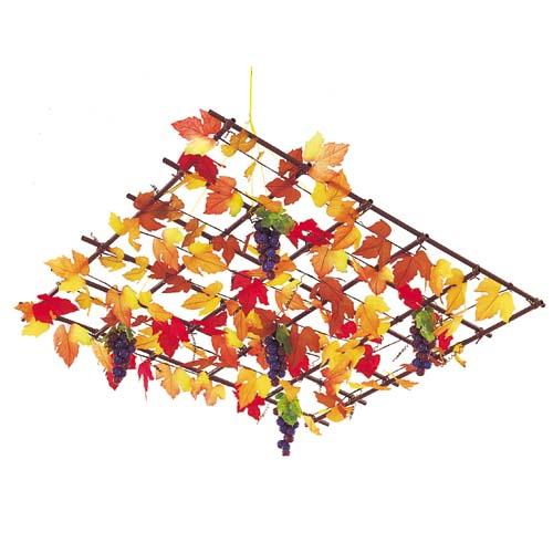 オータムシャンデリア(5) 秋装飾デコレーション [DECH5501]