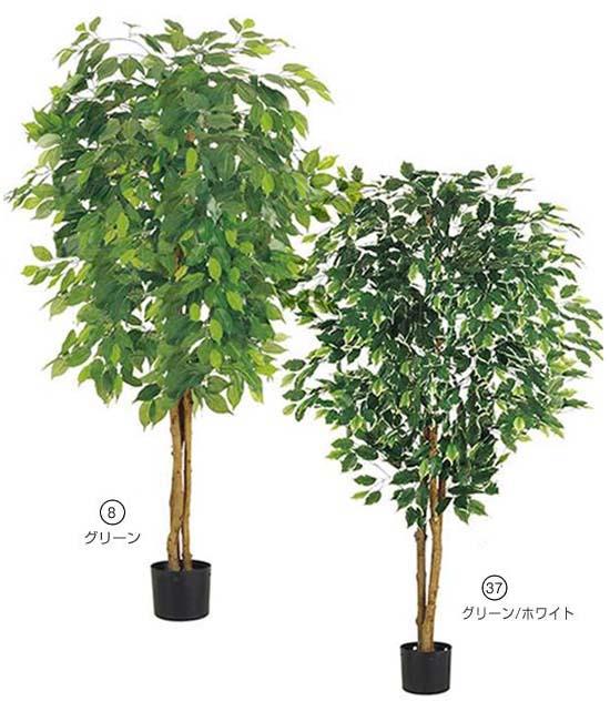 人口観葉植物 大型 150cm フィカスツリー(ナチュラルトランク) 造花 観葉植物 [LETR7633] フェイク グリーン インテリア おしゃれ