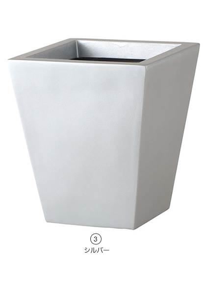 スクウェアポット(L) おしゃれな植木鉢 スタイルおしゃれな植木鉢 [PAPL7961]【ポット 植木鉢 花材】