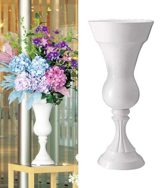 ★植木鉢 フラワーポット 花瓶 27cm径 ドロマイトローマンベース [PC6205-100W]【植木鉢 ポット】