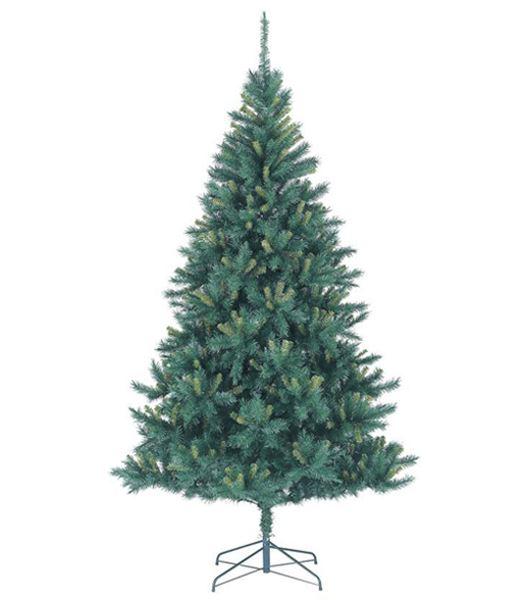 ★クリスマスツリー 210cm ツートーンナチュラルカットワイドツリー(ヒンジ方式) [PATR6960]