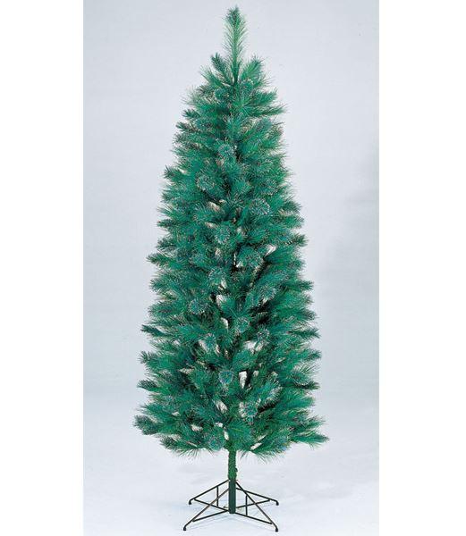 ★クリスマスツリー 240cm グリッターニードルパインツリー(ヒンジ方式) [PATR6566]