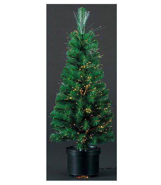 ★クリスマスツリー 90cm ファイバーオプティックノーブルファーツリー(光ファイバー付き) [DITR6919]