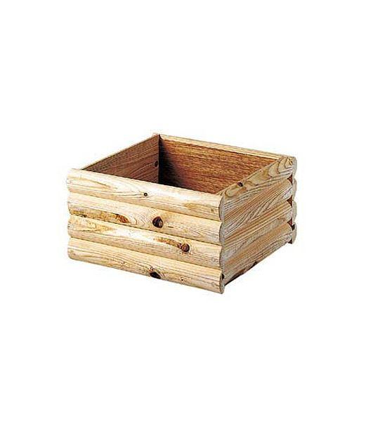 ログツリーベース(S) 装飾フラワーベース プランター 植木鉢 [PAPL6543S]【フェイク グリーン 資材 フラワー アレンジメント】