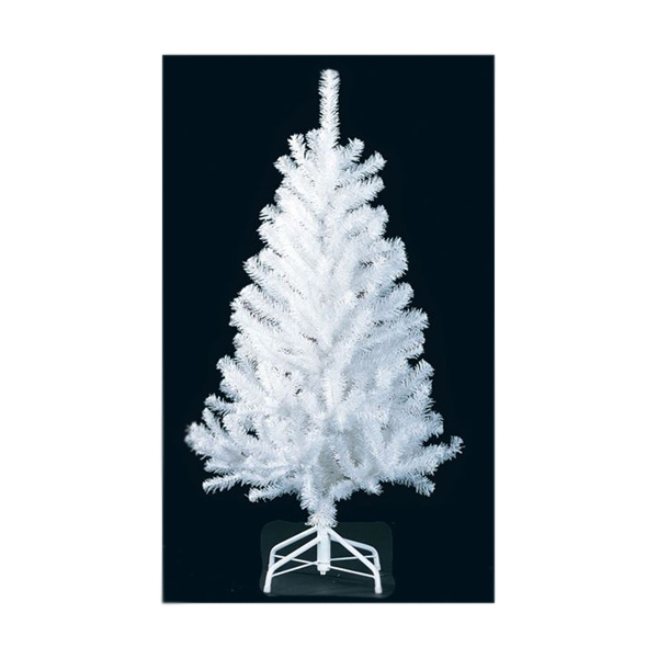 ★クリスマスツリー 180cm ホワイトノーブルパインワイドツリー(ヒンジ方式) [PATR6969]