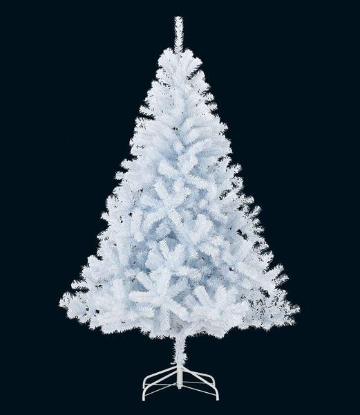 ★クリスマスツリー 防炎180cm ニューホワイトノーブルリッチワイドツリー(ヒンジ式)×740 [PATR61015]