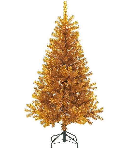 240cm ゴールドノーブルパインワイドツリー(ヒンジ方式) クリスマスツリー [PATR6988]