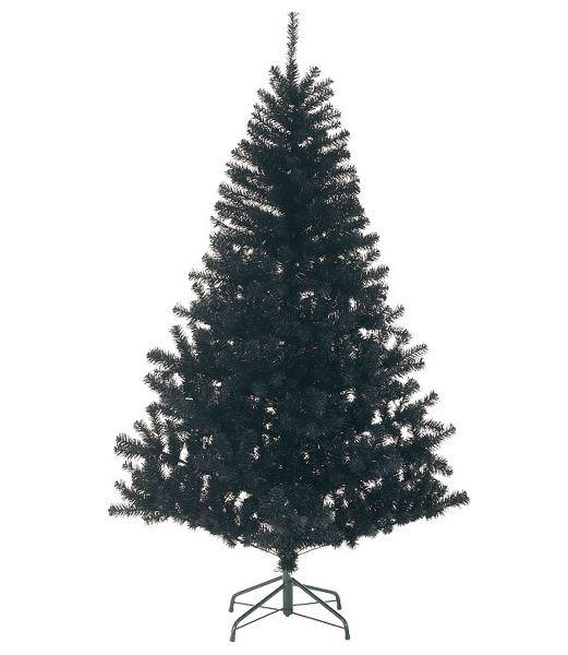 ★クリスマスツリー 180cm ブラックノーブルパインワイドツリー(ヒンジ方式) [PATR6984]
